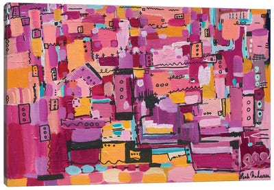 City Of My Dreams Canvas Art Print
