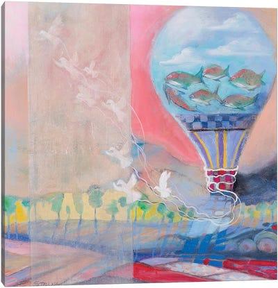 Bird Toy Canvas Art Print