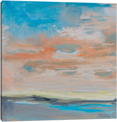 Blush Sky Canvas Art Print