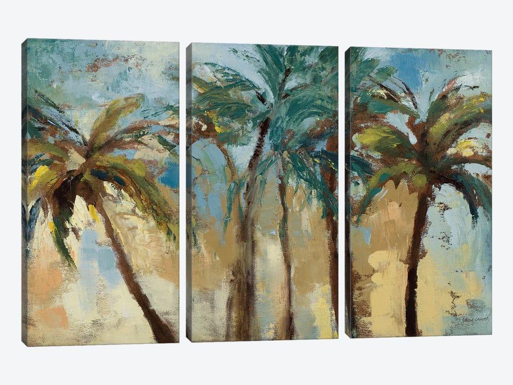 Island Morning Palms by Lanie Loreth 3-piece Canvas Artwork