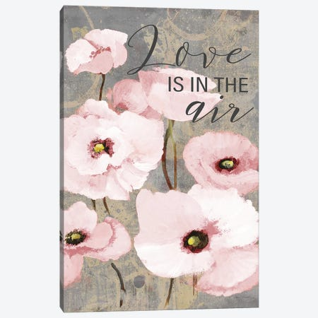 Kindle's Blush Poppies I Canvas Print #LNL107} by Lanie Loreth Canvas Print
