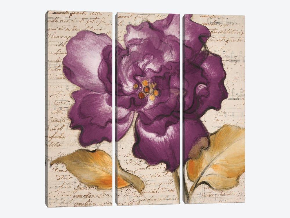 Lilac Beauty I by Lanie Loreth 3-piece Canvas Art Print
