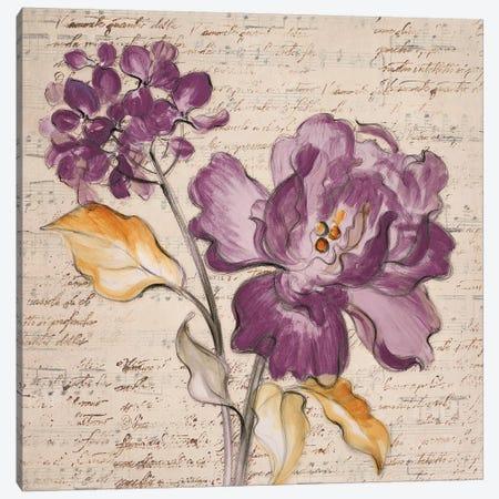 Lilac Beauty II Canvas Print #LNL112} by Lanie Loreth Canvas Art Print