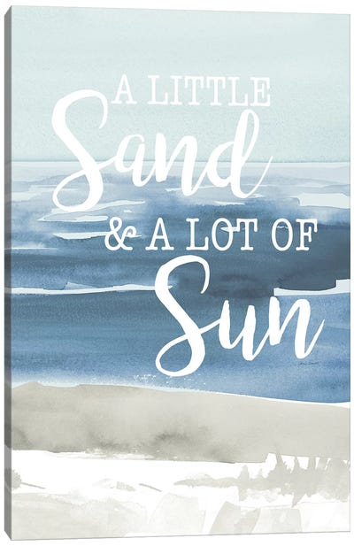 Little Sand Lot of Sun Canvas Art Print