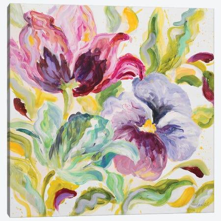 Lyrical Garden II Canvas Print #LNL117} by Lanie Loreth Canvas Art