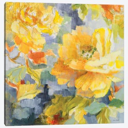 Modern Peonies I Canvas Print #LNL126} by Lanie Loreth Canvas Art Print