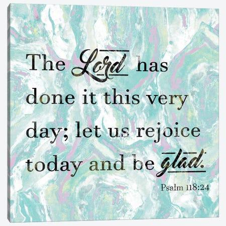 Be Glad Canvas Print #LNL12} by Lanie Loreth Canvas Artwork