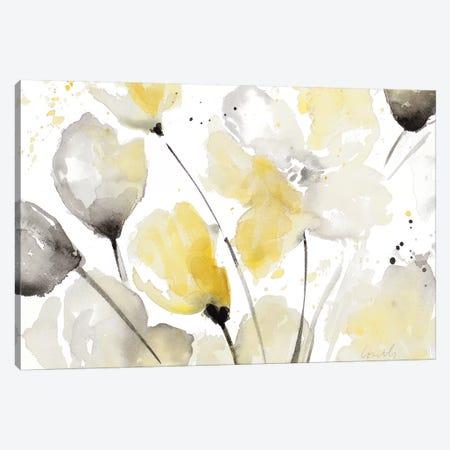 Neutral Abstract Floral II Canvas Print #LNL135} by Lanie Loreth Canvas Art