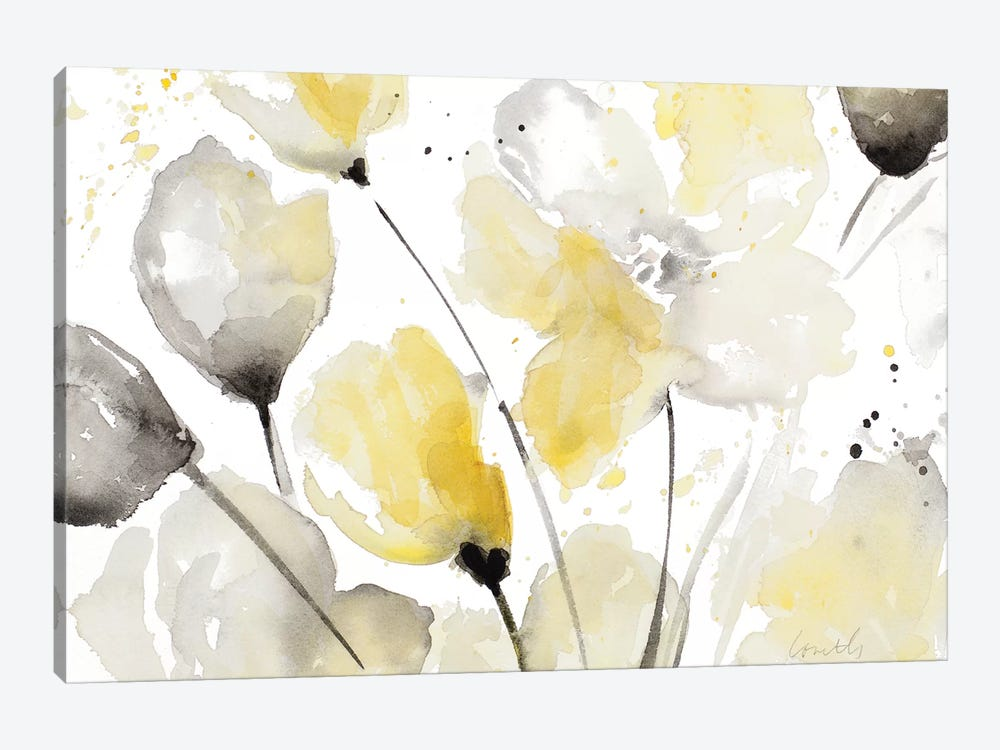 Neutral Abstract Floral II by Lanie Loreth 1-piece Canvas Art Print