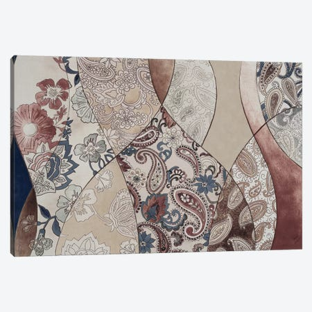 Neutral Paisley Coalescence Canvas Print #LNL138} by Lanie Loreth Canvas Print