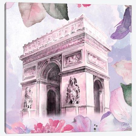 Parisian Blossoms II 3-Piece Canvas #LNL147} by Lanie Loreth Canvas Art Print