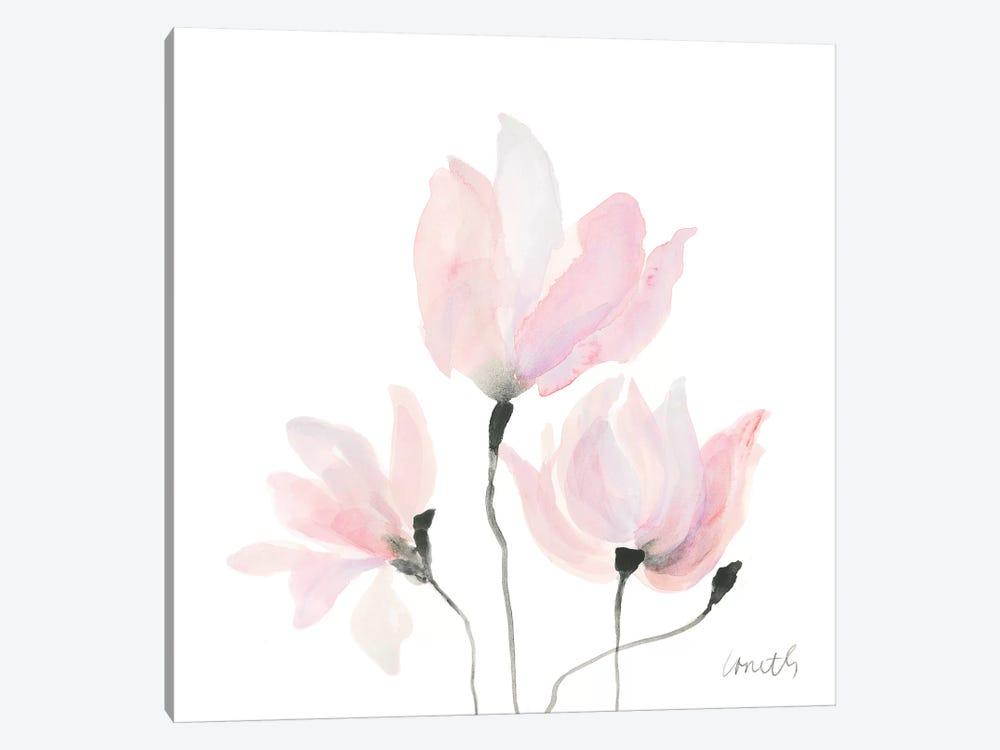 Pastel Floral Sway I by Lanie Loreth 1-piece Canvas Art