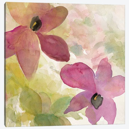 Beautiful and Peace Orchid I Canvas Print #LNL14} by Lanie Loreth Canvas Art Print