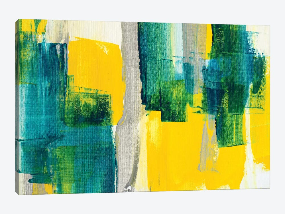 Revealing Teal II by Lanie Loreth 1-piece Canvas Print