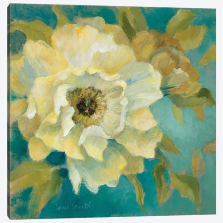 Sen?orita Peony and Bloom Canvas Print #LNL168} by Lanie Loreth Canvas Art