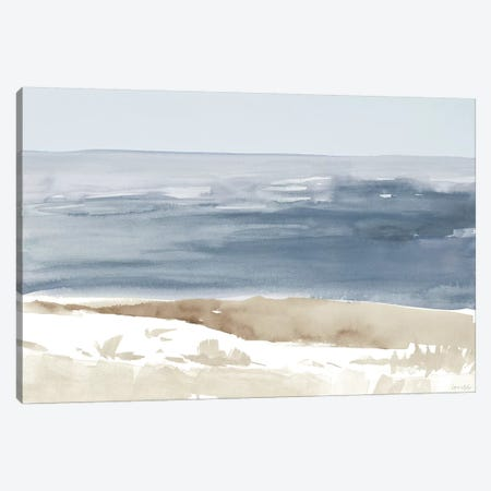Soft Coastlines II Canvas Print #LNL178} by Lanie Loreth Art Print