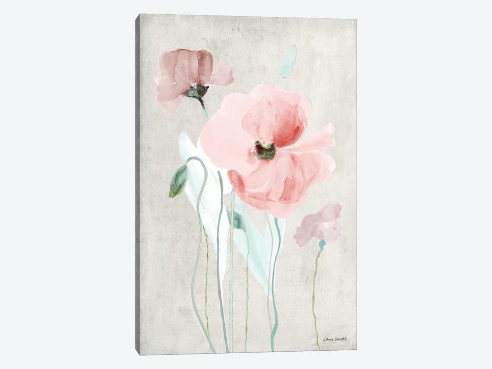 Soft Pink Poppies I by Lanie Loreth 1-piece Art Print