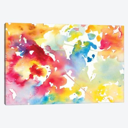 Spring has Sprung I Canvas Print #LNL184} by Lanie Loreth Art Print