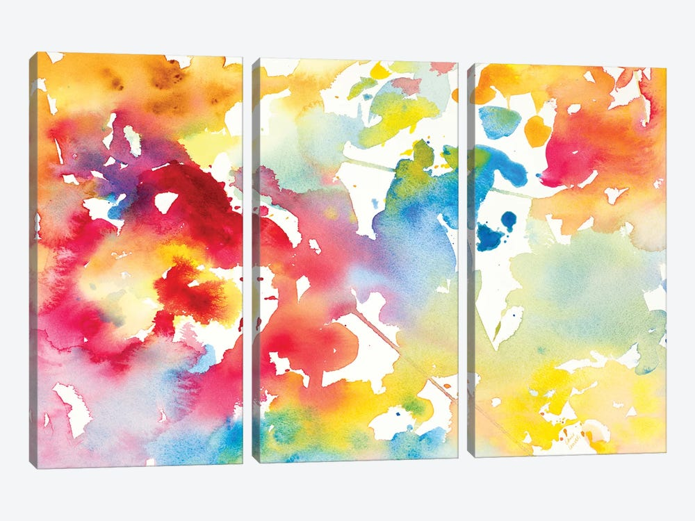 Spring has Sprung I by Lanie Loreth 3-piece Canvas Art Print