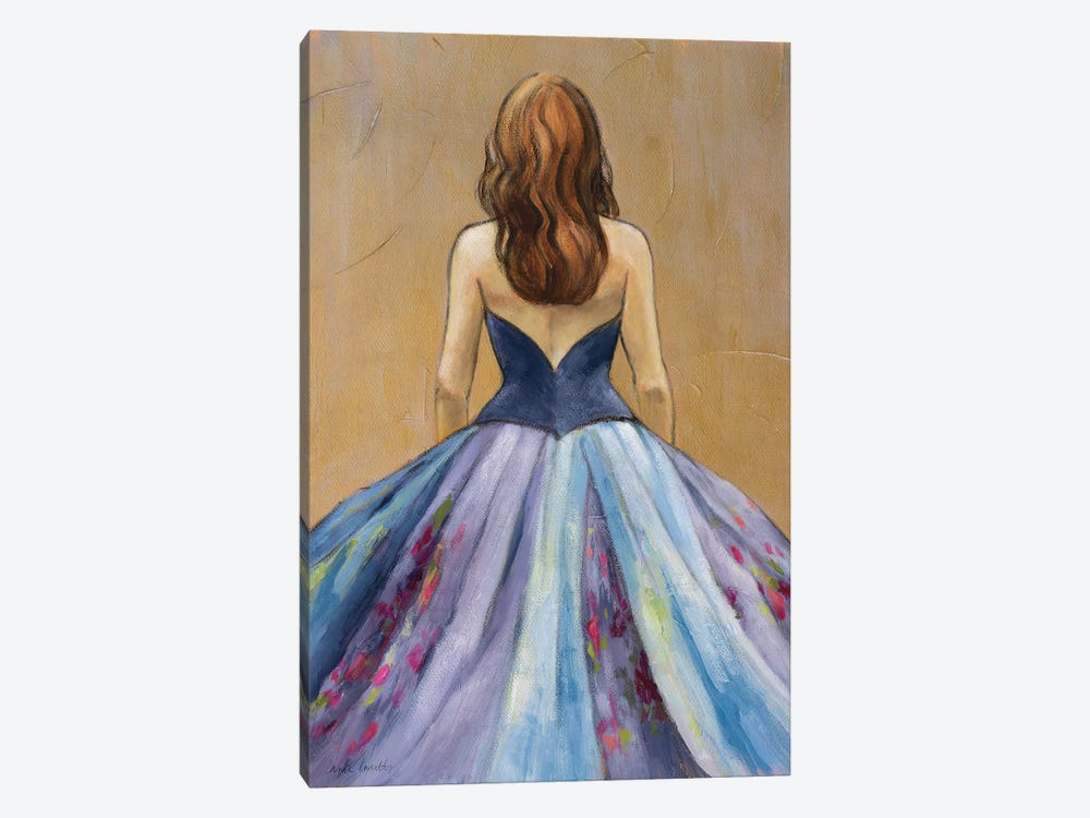 Still Woman in Dress by Lanie Loreth 1-piece Canvas Art Print
