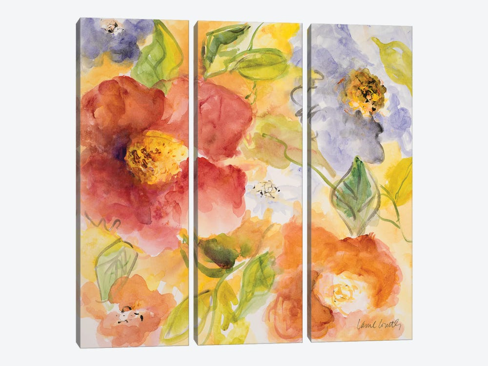 Summer in Provence III by Lanie Loreth 3-piece Art Print