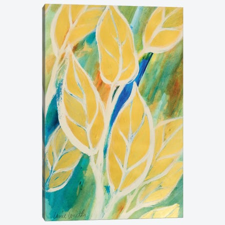 Swaying Leaves I Canvas Print #LNL200} by Lanie Loreth Canvas Print