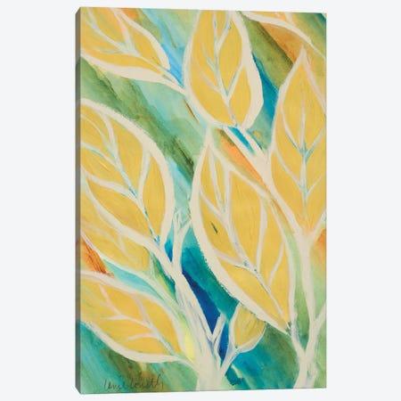 Swaying Leaves II Canvas Print #LNL201} by Lanie Loreth Canvas Art Print