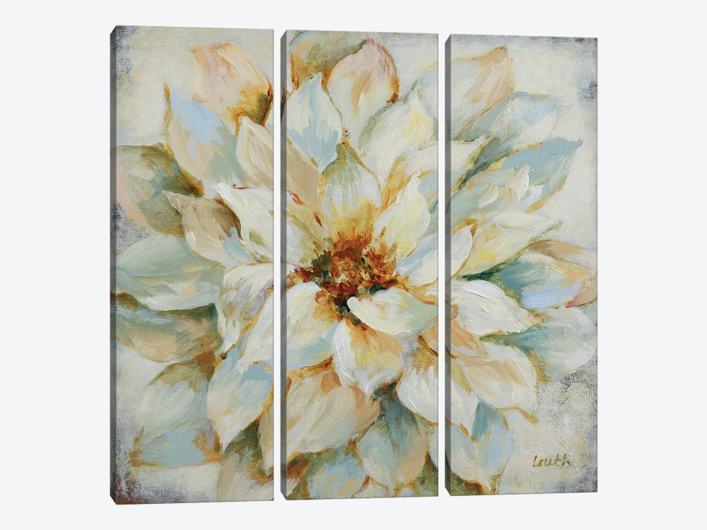 Blooming Beauty by Lanie Loreth 3-piece Canvas Art Print