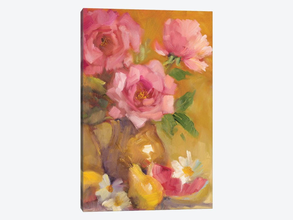 Three Roses by Lanie Loreth 1-piece Canvas Art Print