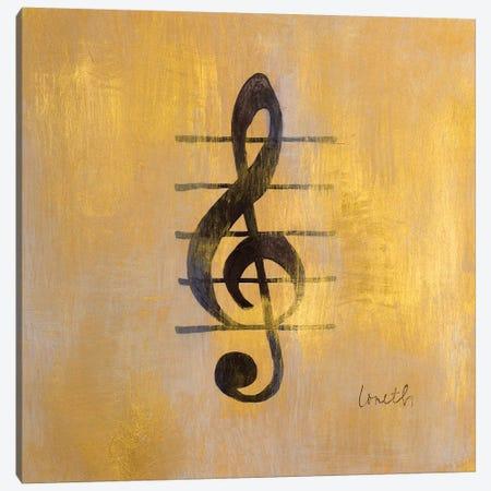 Treble Clef Canvas Print #LNL216} by Lanie Loreth Canvas Art Print