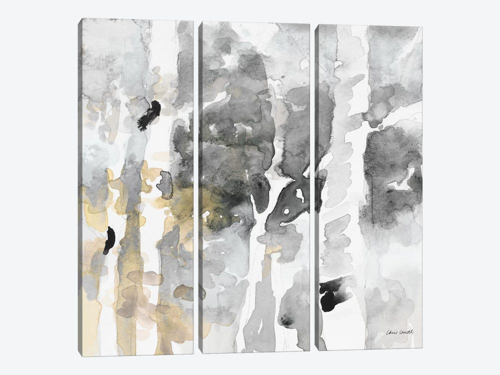 Up to the Northern Skies Grey II by Lanie Loreth 3-piece Canvas Art
