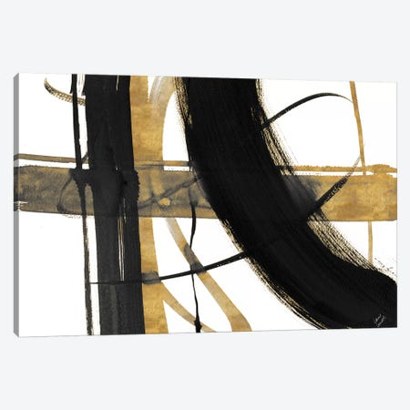 Urban Vibe with Gold I Canvas Print #LNL226} by Lanie Loreth Canvas Wall Art
