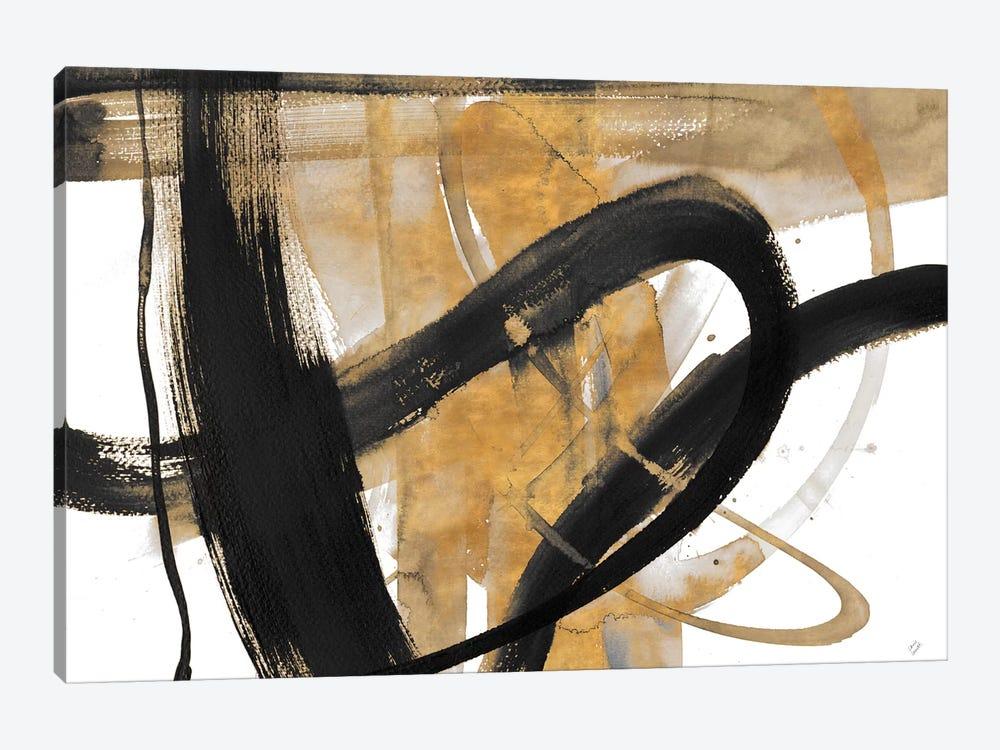 Urban Vibe with Gold II by Lanie Loreth 1-piece Canvas Art