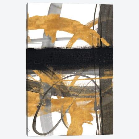 Urban Vibe With Gold III Canvas Print #LNL228} by Lanie Loreth Canvas Art Print