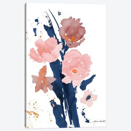 Watercolor Pink Poppies II Canvas Print #LNL236} by Lanie Loreth Canvas Print