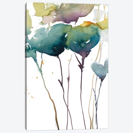 Wildflower Grace I Canvas Print #LNL239} by Lanie Loreth Canvas Artwork