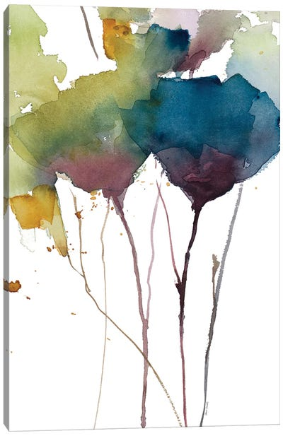 Wildflower Grace II Canvas Art Print