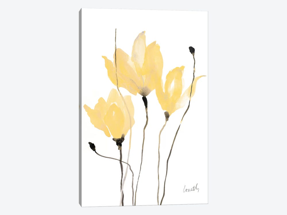 Yellow Sway by Lanie Loreth 1-piece Canvas Wall Art