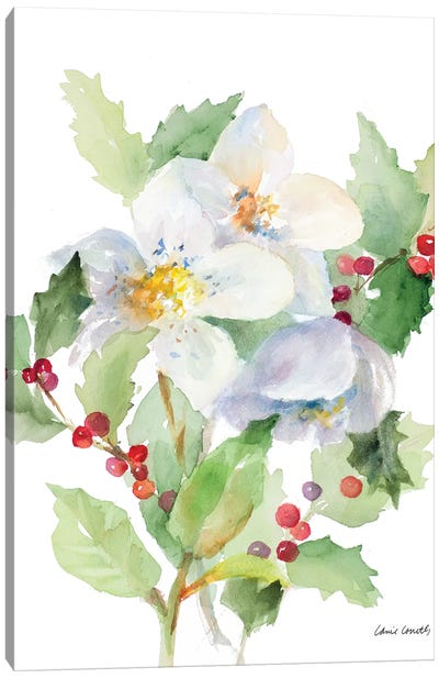 Christmas Bouquet I Canvas Art Print