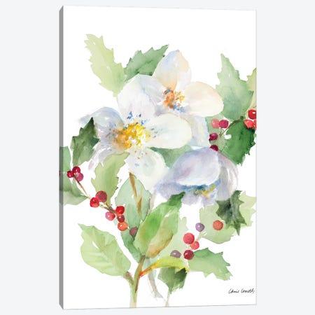 Christmas Bouquet I Canvas Print #LNL251} by Lanie Loreth Canvas Art
