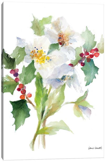 Christmas Bouquet II Canvas Art Print