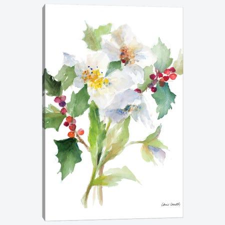 Christmas Bouquet II Canvas Print #LNL252} by Lanie Loreth Canvas Artwork