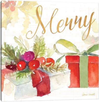 Presents and Notes I Canvas Art Print