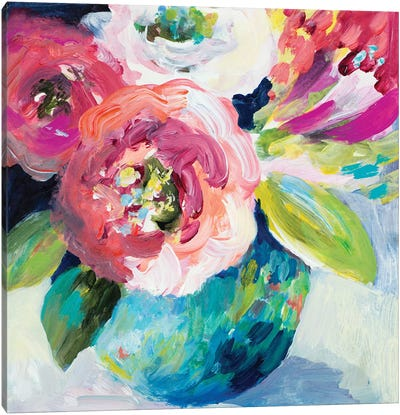 A Pop Of Spring Canvas Art Print