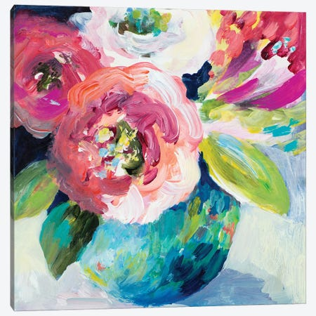 A Pop Of Spring Canvas Print #LNL273} by Lanie Loreth Canvas Art