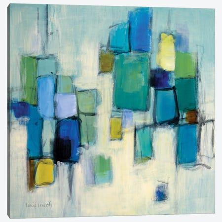 Bayside I Canvas Print #LNL276} by Lanie Loreth Canvas Print