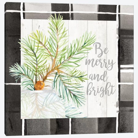 Be Merry And Bright 3-Piece Canvas #LNL278} by Lanie Loreth Canvas Art