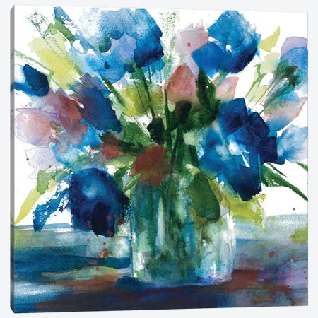Blue Haven II Canvas Print #LNL27} by Lanie Loreth Canvas Wall Art