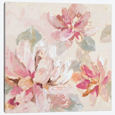Blushing Spring I Canvas Print #LNL281} by Lanie Loreth Canvas Art Print