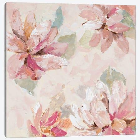 Blushing Spring II Canvas Print #LNL282} by Lanie Loreth Canvas Art Print